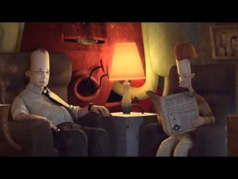 A short animated movie of the most famous book of Shaun tan.