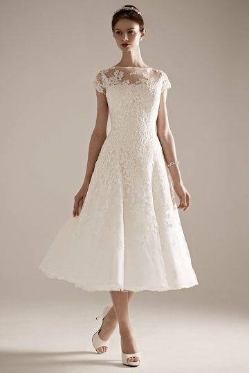 Oleg Cassini for David's Bridal CMK513 | Martha Stewart Weddings