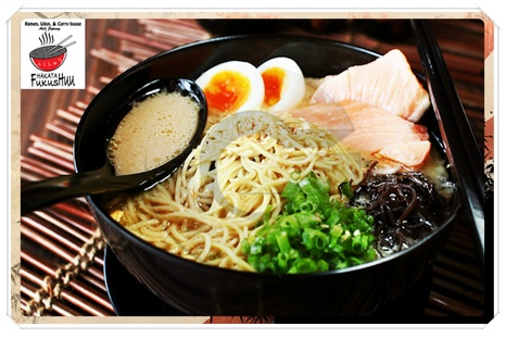 Delicious Ramen at Hakata Fukushuu - http://disdus.com/promo.php?i=3164 #Ramen #Japanese #Food