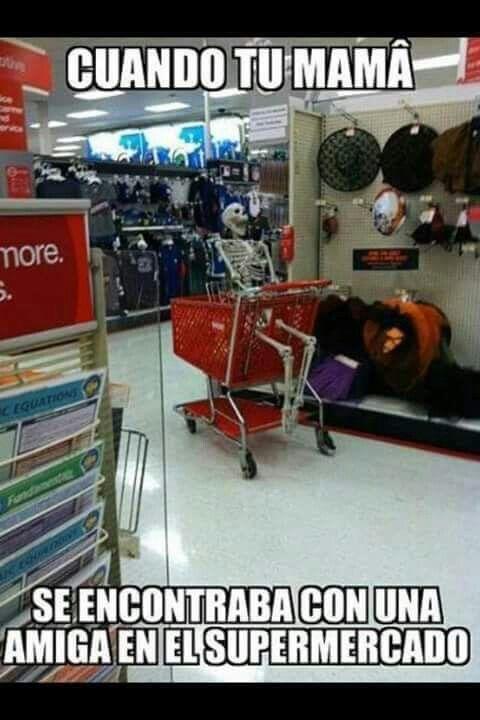 Este es como me siento casi todos los tiempos que voy al supermercado con mis…