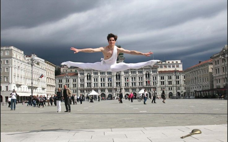 Xander Parish answers the Gramilano Questionnaire… Dancers' Edition