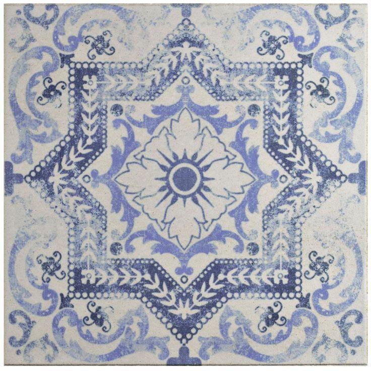 Merola Tile Klinker Alcazar Magnolia 12 3 4 In X 12 3 4 In Ceramic Floor And Wall Quarry Tile