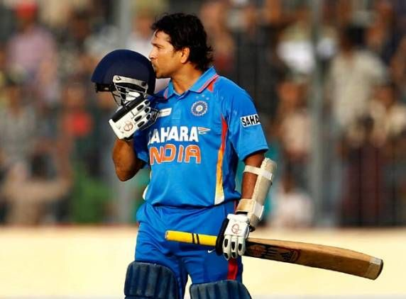 Sachin Tendulkar finally hits 100th international century