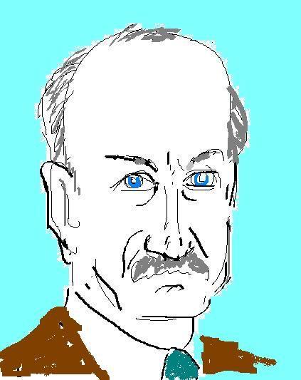 Portret van Talcott Parsons (1902-1979)