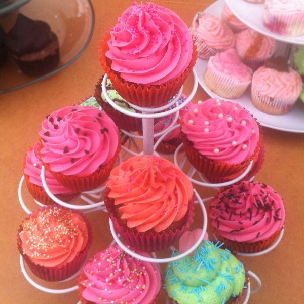 Rabarbercupcakes