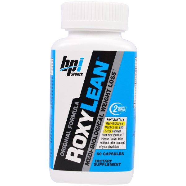 BPI Sports, RoxyLean, Medi-Biological Weight Loss, 60 Capsules