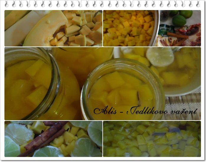 Jedlíkovo vaření: Dýňový kompot