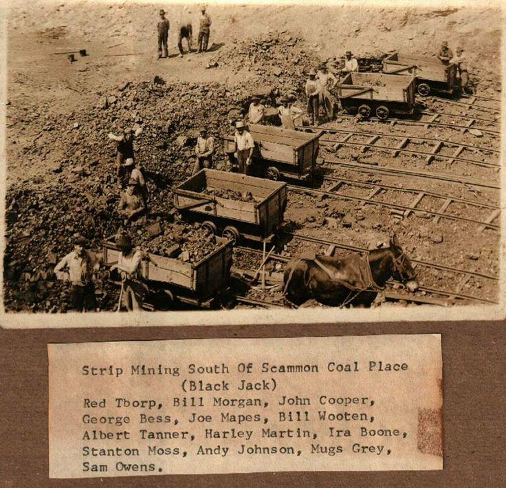 Black Jack Mine, Near Scammon, Kansas.