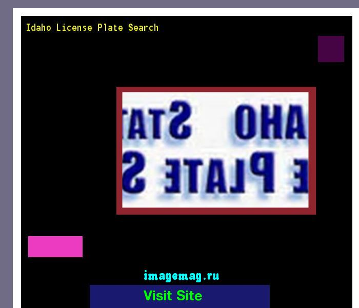 Idaho license plate search 141532 - The Best Image Search