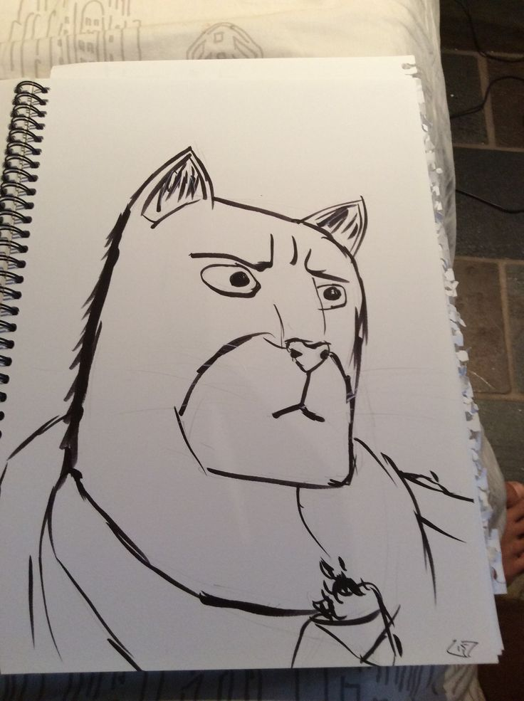 John blacksad - playing with a kuretake zig  brush marker - really digging how black it is and it's really soft too. Opposite end has a firm bullet tip