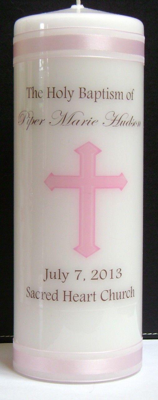 Holy Baptism Candle