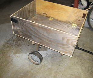 Garden tractor cart plans woodworking projects plans for Garden cart plans
