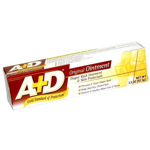 A&D Diaper Rash Ointment 1.5 oz (Pack of 12) by A&D. $40.53. Great Value!. A&d Ointment 1.50z (Pack of 12)