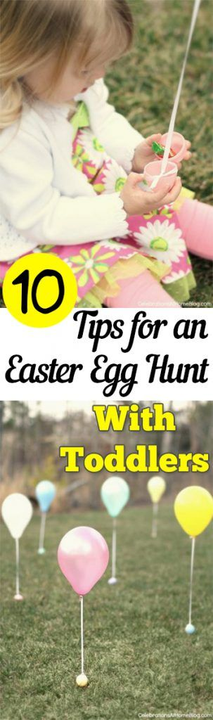 10 Tips for an Easter Egg Hunt With Toddlers