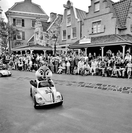 Vintage Disney parade..nothing like today but I bet it was still magical then!