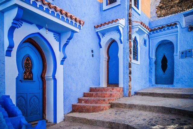どこThe Blue Pearl of Morocco: