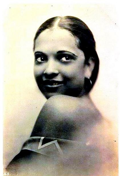 """Nina Mae McKinney (June 13, 1913 - May 3, 1967) was an American Actress Dubbed """"The Black Garbo"""", she was one of the first African American film stars and was one of the first African-Americans to appear on British television, featuring in the demonstration film broadcast each morning for the benefit of installers and engineers."""