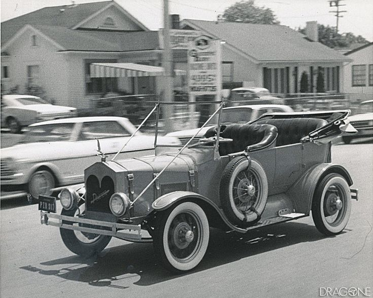 """The debut of """"My Mother the Car"""" aired on September 14, 1965, starring Jerry Van Dyke who played the role of attorney David Crabtree and his 1928 Porter Touring car featured the antics of David Crabtree who buys a used and dilapidated 1928 Porter touring car. The car turns out to be the reincarnation of his deceased mother, voiced by actress Ann Sothern, she talks to him through the car's radio."""