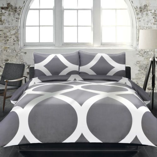 Adrian Lewis 3 Piece Duvet Cover Set