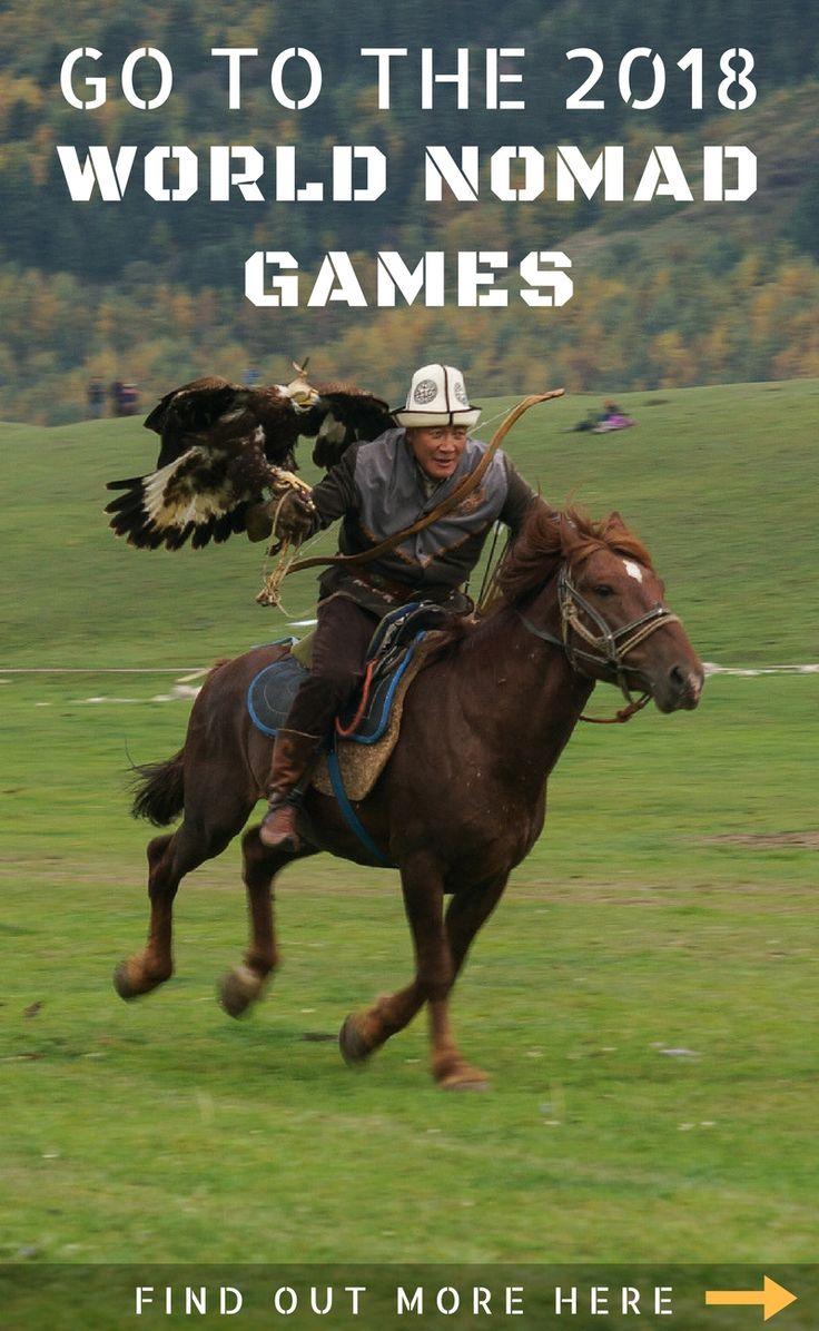 Kyrgyzstan travel | World Nomad Games. #kyrgyzstan #travel #games #sport