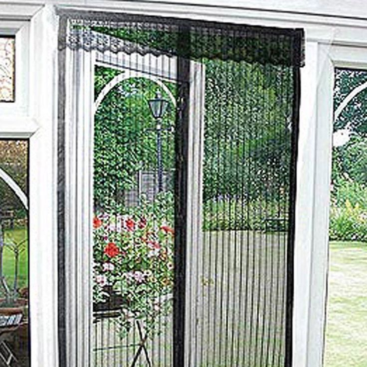 Magnetic Flying Insect Door Screen Curtain Mosquito Protector Garden Home  Patio #ebay