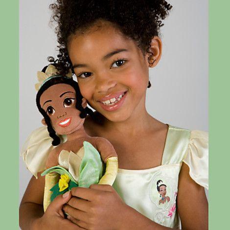 Плюшевые Принцесса и лягушка Принцесса Тиана Doll - 21'' H   Принцесса и лягушка   Дисней магазин