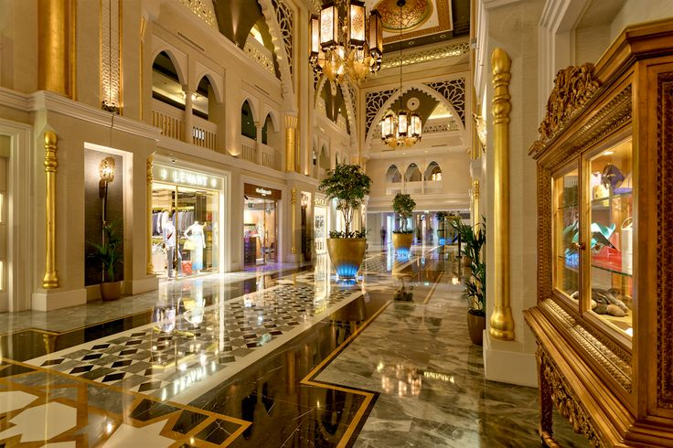 ''Jumeirah Zabeel Saray'' by Arketipo Design #Interior #Lobby # design luxury