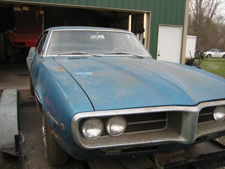 1967 Firebird Pontiac Barn Find Survivor Project Car Pontiac