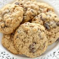 Image result for Oatmeal Raisin Cookies