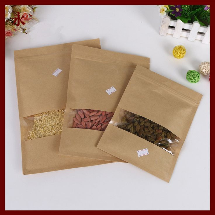 Find More Packaging Bags Information about 16*22 100pcs window wrapping paper ziplock bag packaging kraft gift paper bags for jewelry/gifts/tea/candy/food craft paper,High Quality paper animal finger puppets,China bag kraft Suppliers, Cheap paper bag painting from DIY Jewelry Findings on Aliexpress.com