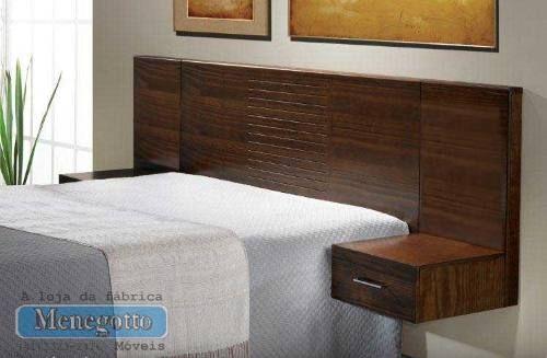 cabeçeira para cama box em madeira maciça