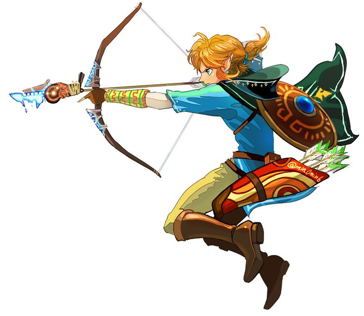 I LOVE Link's bow and arrow!!