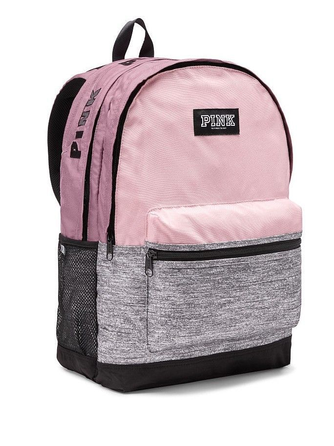 Victoria s Secret PINK Campus Backpack - VS School Bookbag 2018 NEW ... e44b0f186298f
