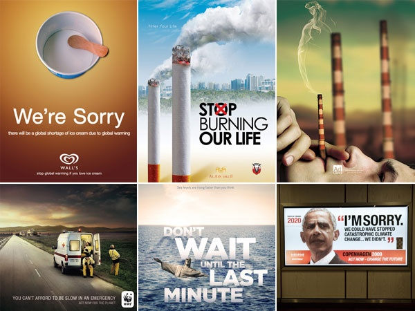 10 Amazing Advertisements about Global Warming