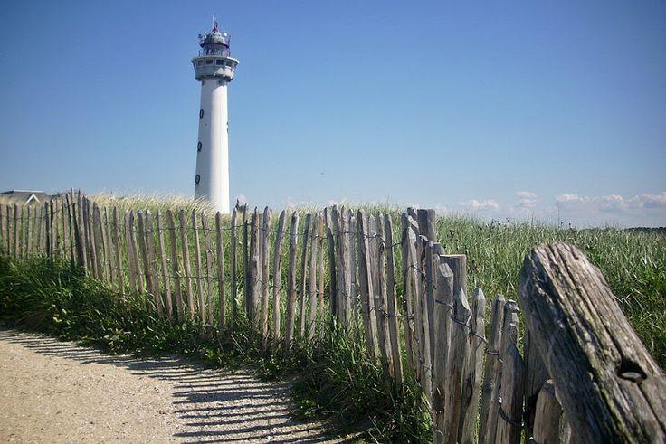 Lighthouse Egmond aan Zee, Netherlands.