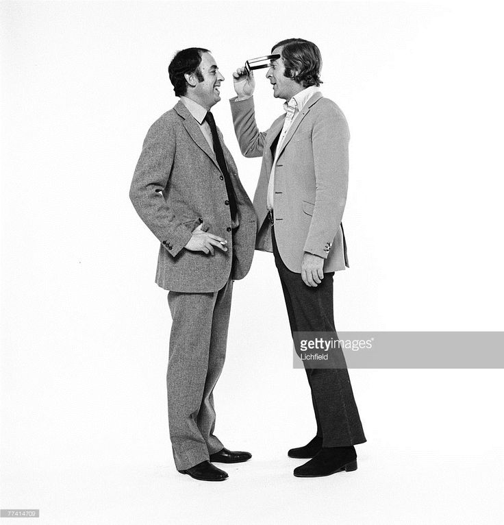 British tailor Doug Hayward and film actor Michael Caine on 7th October 1971…