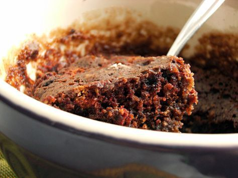 Vegan Chocolate Mug Cake - this was super easy and I was really pleasantly surprised by how tasty it was, all things considered.