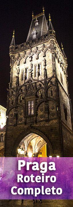 Roteiro completo de Praga, a maravilhosa capital da República Tcheca. Contamos detalhes sobre as principais atrações e passeios, dicas, preços e o que comer :)
