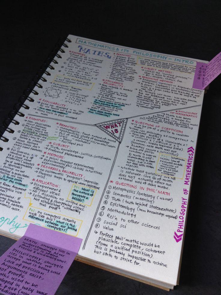 ||| student, study, maths, college, university, notes, notebook, notespiration, inspiration, inspo