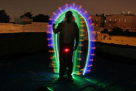 Exposure: 10 Amazing Light Graffiti Artists