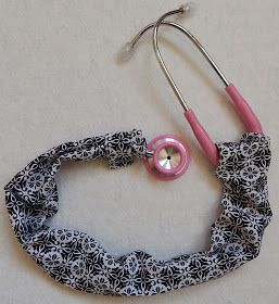 Some Like It Quilted: Stethoscope Cover - A Tutorial
