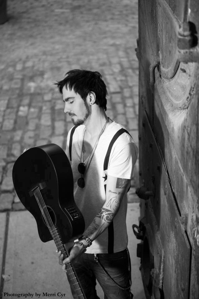 Adam Gontier.  Three Days Grace.  Love this pic