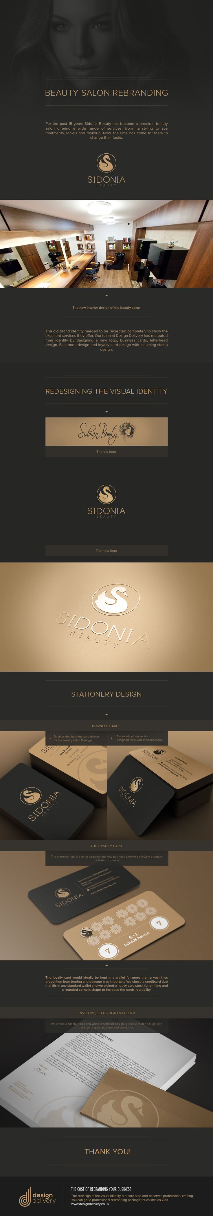 Beauty Salon logo design on Behance