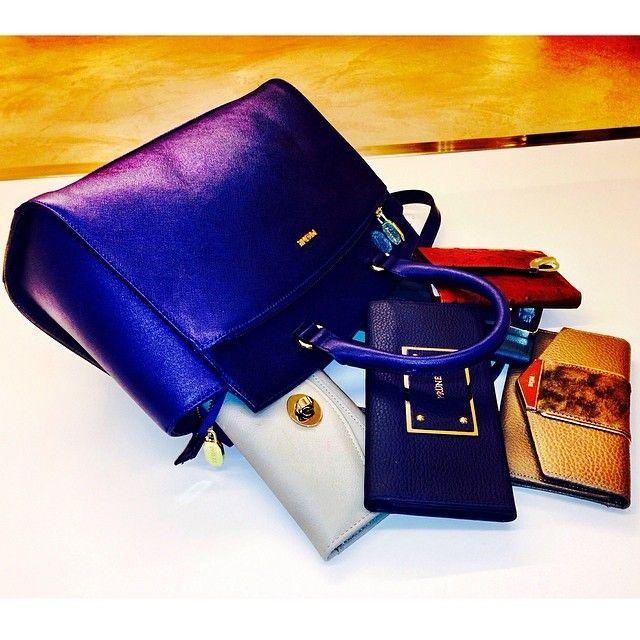 Crazy for Wallets #Blue #Leather #Suede #Bag #Wallets #Details #Colours #White #Camel #Burgundy | Instagram: @pruneoficial