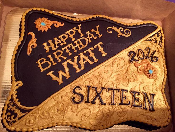 Roping Cowboy Birthday Cake
