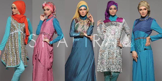 Trend Fashion, Kombinasi Warna Busana Muslim Shafira