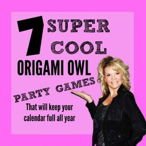 Origami Owl party games