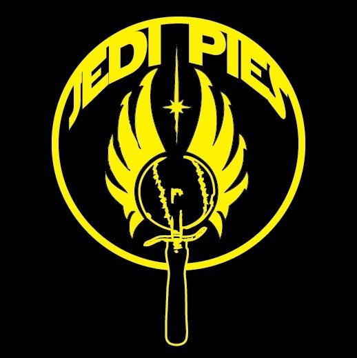 Logo design for CT pizza restaurant LLC Jedi Pies