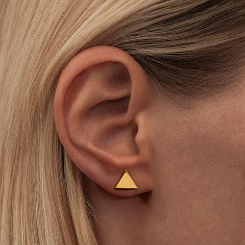 TOOLS · EAR STUDS · GOLD PLATED