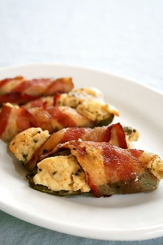Bacon Wrapped Cream Cheese Jalapeno Bites! WOW This looks so good can't wait to try!  YUMMY!!!